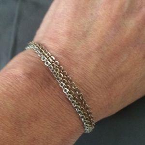 Small 3-Strand Link Bracelet